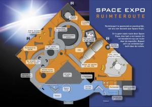 Plattegrond Space Expo Noordwijk