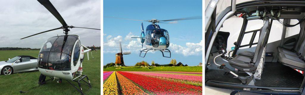 Vuelo en helicóptero Keukenhof