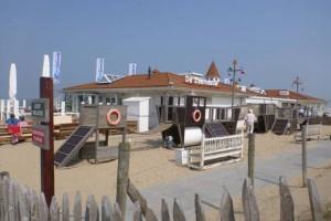 Strandpaviljoen de Zeemeeuw in Noordwijk