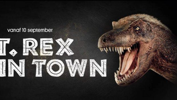 Naturalis : T. rex in Town in Leiden