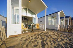Strandhuisjes De Wetering in Katwijk