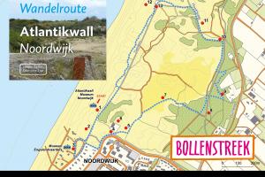 Wandelroute Atlantikwall Noordwijk (3,6 km)