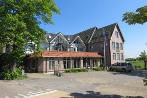 Hotel Orion op het Kaag eiland