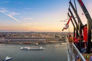 Voor het mooist uitzicht over Amsterdam: A'DAM Lookout
