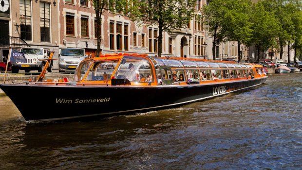 Rondvaart door Amsterdam met Lovers