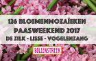 126 Bloemenmozaïeken in de Bollenstreek tijdens het Paasweekend