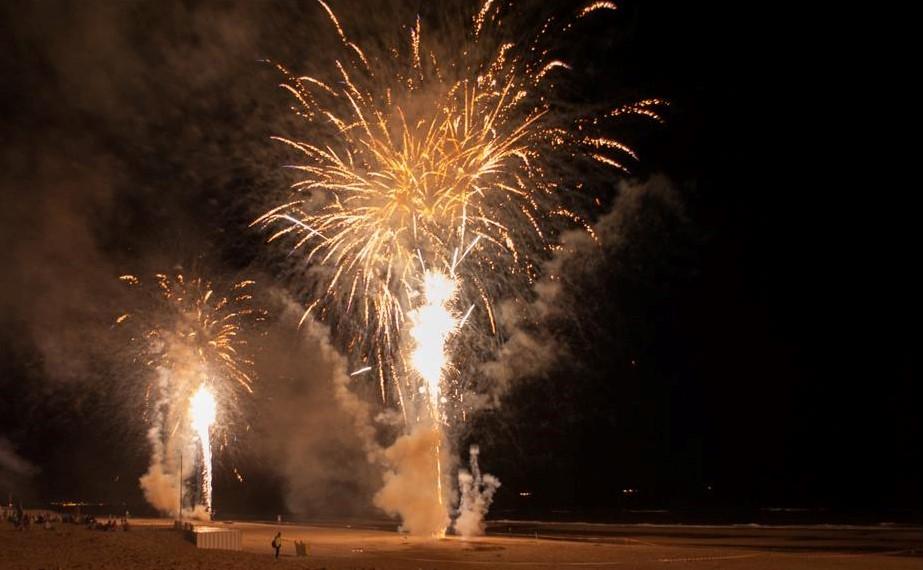 Vuurwerkshow Noordwijk