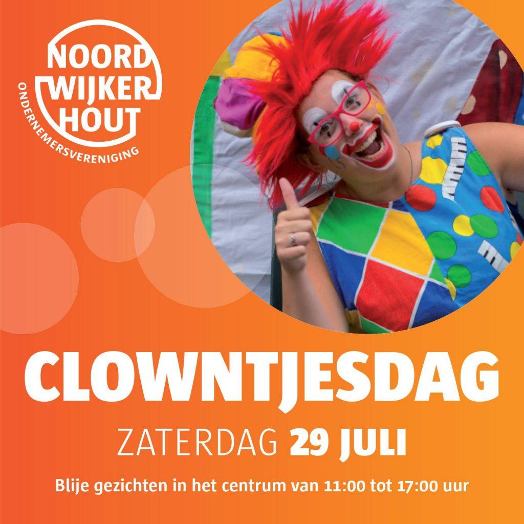 clowntjesdag Noordwijkerhout