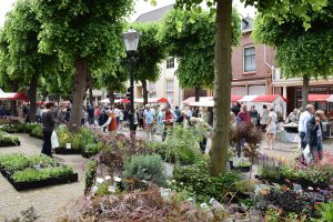 markt onder de linden Noordwijk