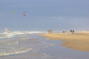 vakantie aan het strand van Katwijk