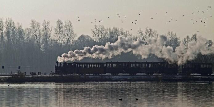 Winterse stoomritten bij Stoomtrein Katwijk Leiden