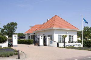 Vakantiepark Noordwijkse duinen ingang
