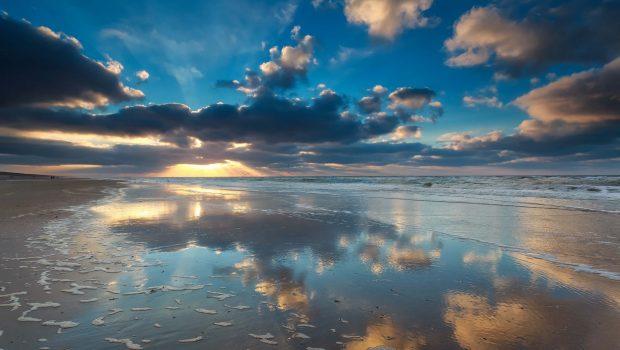 Strand und Dünen in den Niederlanden