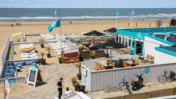 Strandpaviljoens in Zandvoort aan Zee
