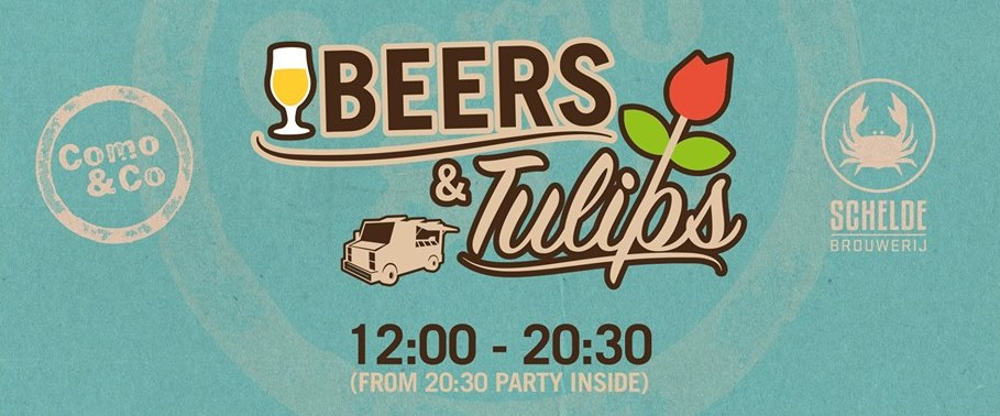 Beers and tulips festival como