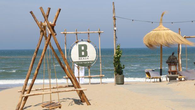 strandtent BEACH Noordwijk schommel