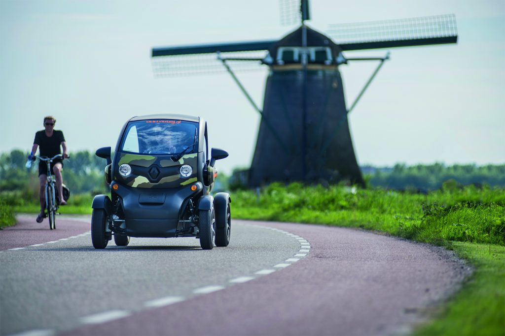 Windmolen tour Twizy Holland