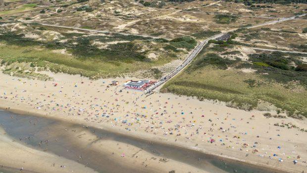 Strand duindamseslag Noordwijk